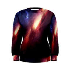 Digital Space Universe Women s Sweatshirt