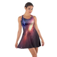 Digital Space Universe Cotton Racerback Dress