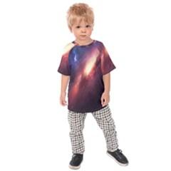 Digital Space Universe Kids Raglan Tee