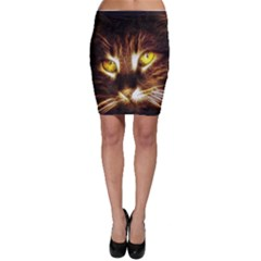 Cat Face Bodycon Skirt