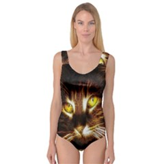 Cat Face Princess Tank Leotard