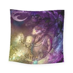 Cartoons Video Games Multicolor Square Tapestry (small) by BangZart
