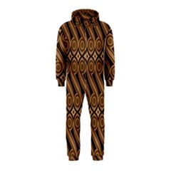 Batik The Traditional Fabric Hooded Jumpsuit (kids)