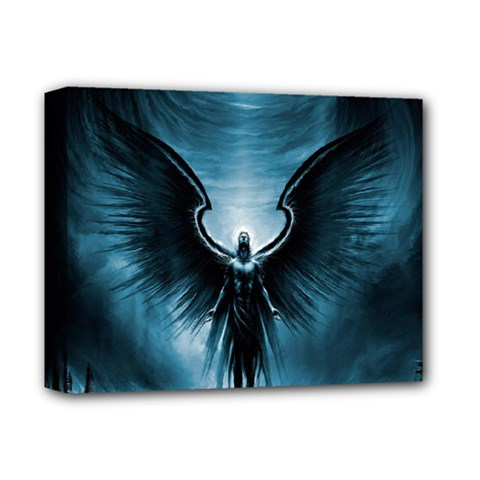 Rising Angel Fantasy Deluxe Canvas 14  X 11  by BangZart