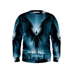 Rising Angel Fantasy Kids  Sweatshirt