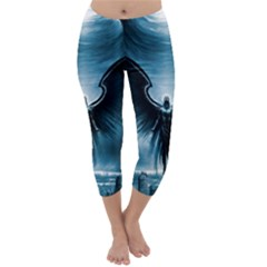 Rising Angel Fantasy Capri Winter Leggings