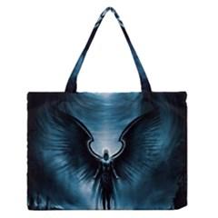 Rising Angel Fantasy Medium Zipper Tote Bag