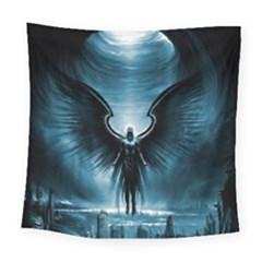Rising Angel Fantasy Square Tapestry (large)