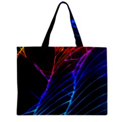 Cracked Out Broken Glass Zipper Mini Tote Bag by BangZart