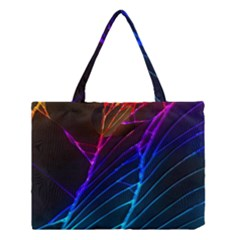 Cracked Out Broken Glass Medium Tote Bag