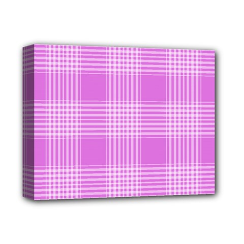 Seamless Tartan Pattern Deluxe Canvas 14  X 11  by BangZart