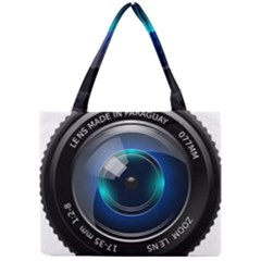 Camera Lens Prime Photography Mini Tote Bag