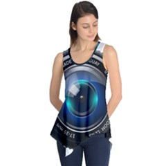 Camera Lens Prime Photography Sleeveless Tunic