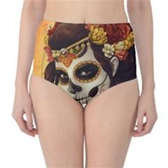 Fantasy Girl Art High Waist Bikini Bottoms