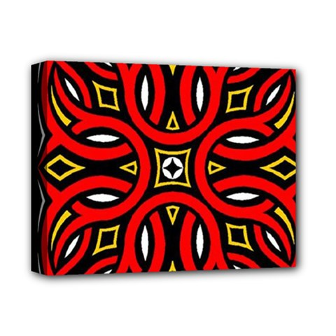 Traditional Art Pattern Deluxe Canvas 14  X 11  by BangZart