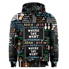 Book Quote Collage Men s Pullover Hoodie