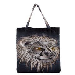 Lion Robot Grocery Tote Bag by BangZart