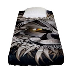 Lion Robot Fitted Sheet (single Size)