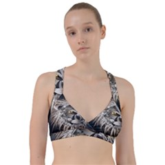Lion Robot Sweetheart Sports Bra