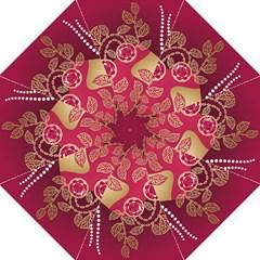 Love Heart Folding Umbrellas