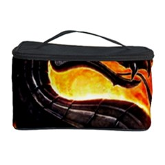 Dragon And Fire Cosmetic Storage Case