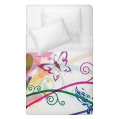 Butterfly Vector Art Duvet Cover (single Size) by BangZart