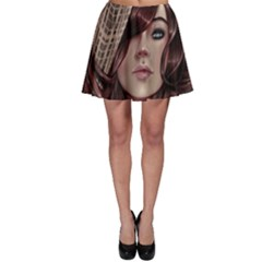 Beautiful Women Fantasy Art Skater Skirt