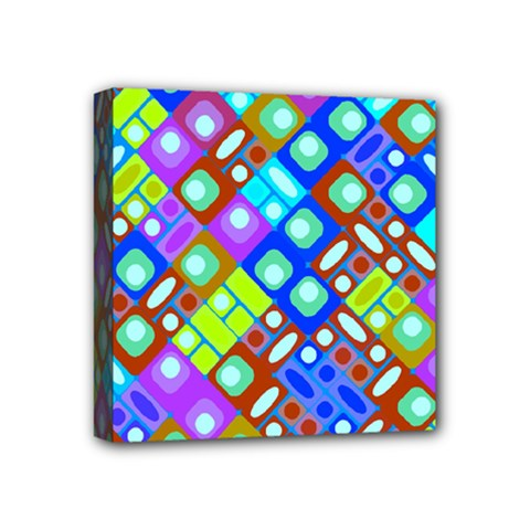 Pattern Factory 32b Mini Canvas 4  X 4  by MoreColorsinLife