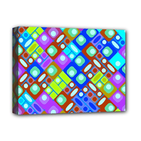 Pattern Factory 32b Deluxe Canvas 16  X 12   by MoreColorsinLife