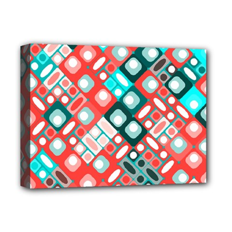 Pattern Factory 32d Deluxe Canvas 16  X 12   by MoreColorsinLife