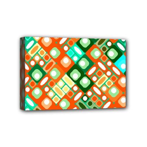 Pattern Factory 32c Mini Canvas 6  X 4  by MoreColorsinLife