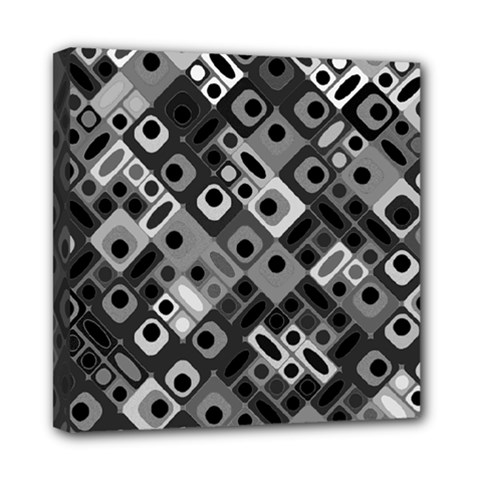 Pattern Factory 32f Mini Canvas 8  X 8  by MoreColorsinLife