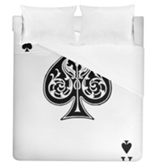 Acecard Duvet Cover (queen Size) by prodesigner
