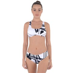 Seal Of Ahvaz Criss Cross Bikini Set by abbeyz71