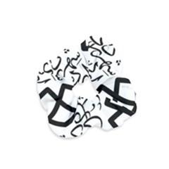 Seal Of Ardabil  Velvet Scrunchie by abbeyz71