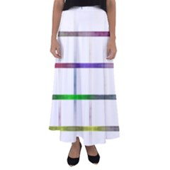 Blurred Lines Flared Maxi Skirt by designsbyamerianna