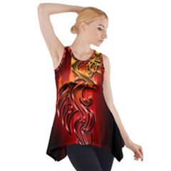 Dragon Fire Side Drop Tank Tunic