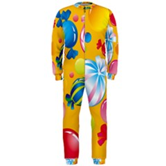 Sweets And Sugar Candies Vector  Onepiece Jumpsuit (men)