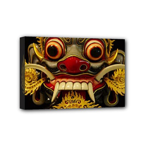 Bali Mask Mini Canvas 6  X 4