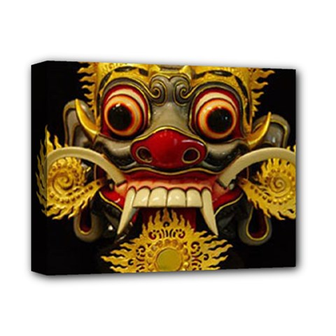 Bali Mask Deluxe Canvas 14  X 11