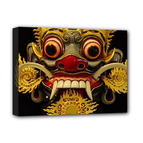 Bali Mask Deluxe Canvas 16  X 12