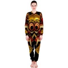 Bali Mask Onepiece Jumpsuit (ladies)