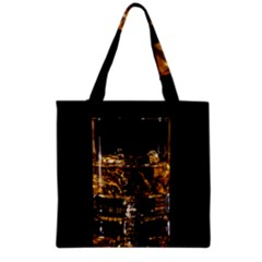 Drink Good Whiskey Grocery Tote Bag