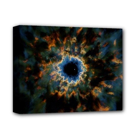 Crazy  Giant Galaxy Nebula Deluxe Canvas 14  X 11  by BangZart