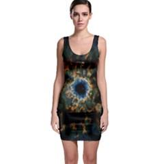 Crazy  Giant Galaxy Nebula Bodycon Dress