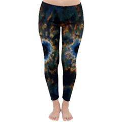 Crazy  Giant Galaxy Nebula Classic Winter Leggings