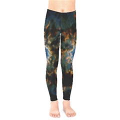 Crazy  Giant Galaxy Nebula Kids  Legging