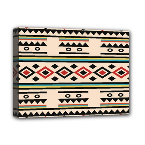 Tribal Pattern Deluxe Canvas 16  X 12   by BangZart