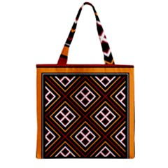 Toraja Pattern Pa re po  Sanguba ( Dancing Alone ) Zipper Grocery Tote Bag by BangZart