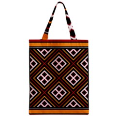 Toraja Pattern Pa re po  Sanguba ( Dancing Alone ) Zipper Classic Tote Bag by BangZart